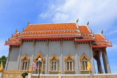 Висок на Rom Pho Manotham Wat Стоковое фото RF