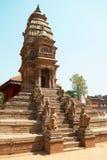 висок Непала города baktaphur стоковые изображения