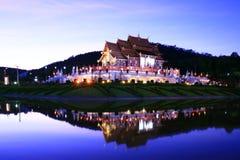 висок ночи тайский Стоковая Фотография RF