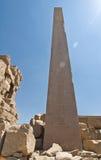 висок обелиска karnak Стоковые Фото
