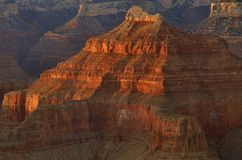 висок образования каньона грандиозный Стоковое фото RF