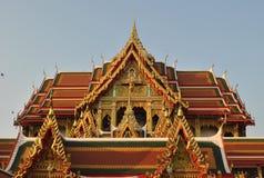 Висок ориентир ориентира в wat Таиланда nonthaburi buakwan Стоковые Фотографии RF