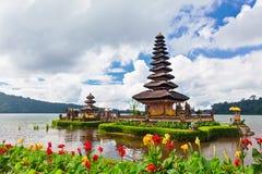 висок острова Индонесии balinese bali традиционный Популярное назначение путешествия дня в Бали Стоковое Фото