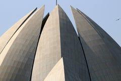 Висок лотоса - главный висок вероисповедания Bahai в Индии Стоковые Изображения