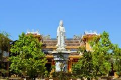 Висок пагоды китайского стиля буддийский в Hoi Стоковое Изображение