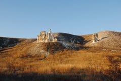 Висок пещеры Стоковая Фотография