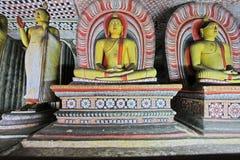 Висок пещеры Dambulla - всемирное наследие ЮНЕСКО Шри-Ланки Стоковые Фото