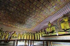 Висок пещеры Dambulla - всемирное наследие ЮНЕСКО Шри-Ланки Стоковые Изображения