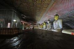 Висок пещеры Dambulla - всемирное наследие ЮНЕСКО Шри-Ланки Стоковая Фотография
