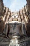 Висок приятеля Sukhothai - Wat Sri - Будда в камере Стоковые Фото