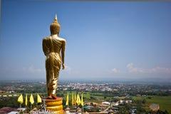 висок провинции Будды золотистый nan Стоковые Фото