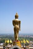 висок провинции Будды золотистый nan Стоковое Изображение
