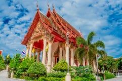Висок района Sattahip на Chonburi, Таиланде Стоковое Фото