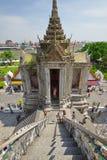 Висок рассвета в Бангкоке Стоковое Изображение RF