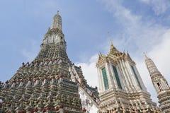 Висок рассвета в Бангкоке Стоковое фото RF