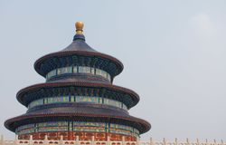 висок рая фарфора Пекин Стоковое Изображение