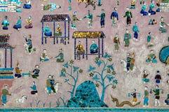 Висок ремня Wat Xieng Стоковые Фото