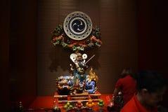 Висок реликвии зуба Будды и музей, Сингапур Стоковая Фотография