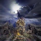 висок руин Стоковая Фотография RF
