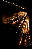 висок светильников Стоковое Фото