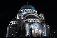 Висок Святого Sava Стоковые Изображения