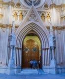 Висок священнейшей церков сердца, Испания Стоковые Изображения