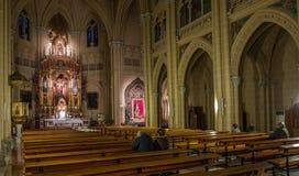 Висок священнейшей церков сердца, Испания II Стоковая Фотография RF