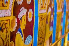 Висок священной реликвии зуба, Шри-Ланка Стоковая Фотография RF