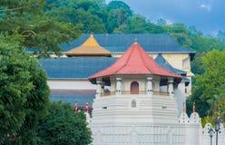 Висок священной реликвии зуба, Шри-Ланка Стоковое Фото