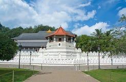 Висок священной реликвии зуба, Канди Шри-Ланка Стоковое Фото