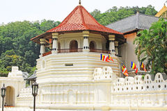 Висок священной реликвии зуба, Канди, Шри-Ланка Стоковое Изображение RF
