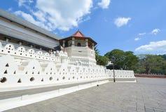 Висок священной реликвии зуба, Шри-Ланка Стоковая Фотография