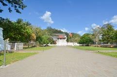 Висок священной реликвии зуба, Шри-Ланка Стоковые Фото