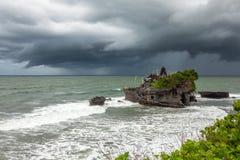 Висок серии Tanah, Бали, Индонесия стоковая фотография