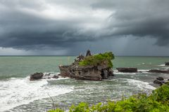 Висок серии Tanah, Бали, Индонесия стоковое фото