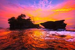 Висок серии Tanah, Бали, Индонезия. стоковые изображения rf