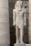 висок скульптуры Египета luxor pharaonic Стоковые Изображения RF