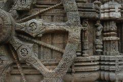 висок скульптуры Индии Стоковое фото RF