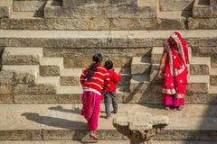 Висок Солнця, Индия Стоковые Фотографии RF