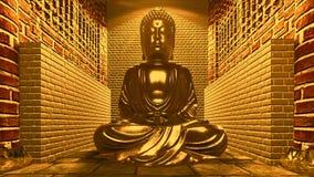 висок статуи Будды Стоковое Изображение RF