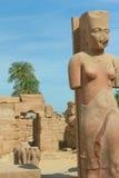 висок статуи karnak Египета Стоковое Изображение RF