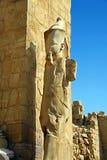 висок статуи karnak Стоковое Изображение RF