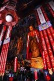 висок статуи shanghai нефрита фарфора Будды буддийский стоковые изображения rf