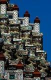 висок Таиланд детали Стоковое фото RF