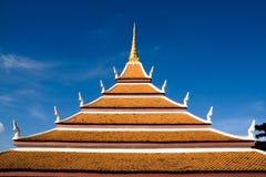 висок Таиланд крыши Стоковая Фотография RF