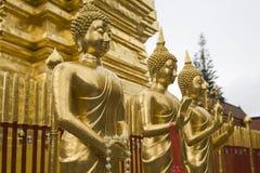 висок Таиланд suthep mai doi chiang Стоковое Фото