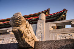 Висок, Таиланд, китайский стиль Стоковое Фото