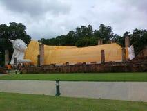 Висок Таиланд статуи Будды старый Стоковое фото RF