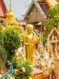 Висок Таиланд статуи Стоковое Изображение