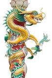 висок Таиланд статуи sian дракона chon buri Стоковые Изображения